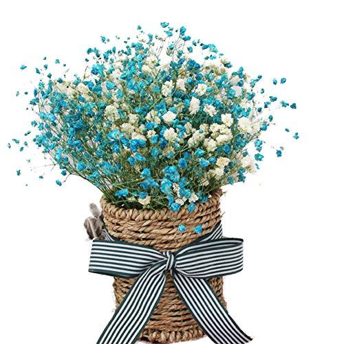 Ramo de Flores de Tonos Azules y Blancos