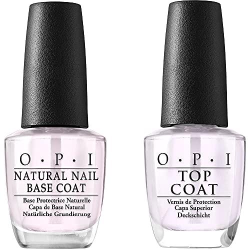 of nail base coats OPI Nail Lacquer Nail Polish Base Coat & Nail Polish Top Coat, 0.5 fl. oz.