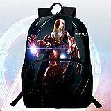 Bag Set Mochilas Escolares 3D Mochila Infantil Avengers Iron Man Mochila Escolar Mochila De Dibujos Animados H