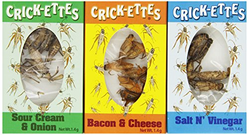 Crick-ettes Seasoned Crickets 24ct.