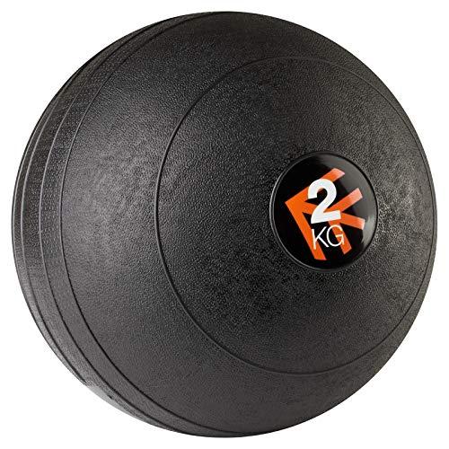 Mirafit Black Non Bounce Slam Ball - 2kg