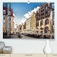 Im Osten viel Schoenes - Stralsund (Premium, hochwertiger DIN A2 Wandkalender 2022, Kunstdruck in Hochglanz): Hansestadt Stralsund - UNESCO-Weltkulturerbe - einmalige Aufnahmen begleiten sie durch das Jahr (Monatskalender, 14 Seiten )