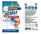 Nosk - Filtro Nasal 2 Unidades TALLA PEQUEÑA - Bloquea al instante los síntomas de...