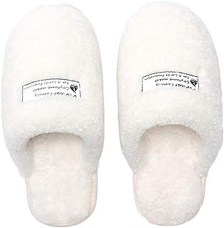 レディース メンズ スリッパ 冬用 あったか ルームシューズ フワフワ 洗える おしゃれ ぽかぽか 防寒対策 室内履き靴 暖かい 滑り止め 柔らかい 軽量 静音 恋人同士