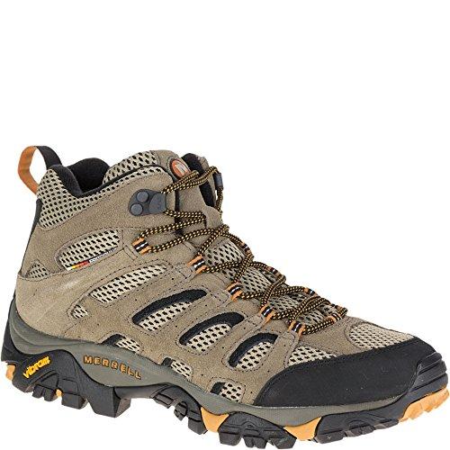 Merrell Men's Moab Ventilator Mid Hiking Boot,Walnut,9.5 M US