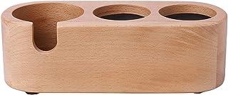 木製のパウダーシートタンピングスタンド (58mm)