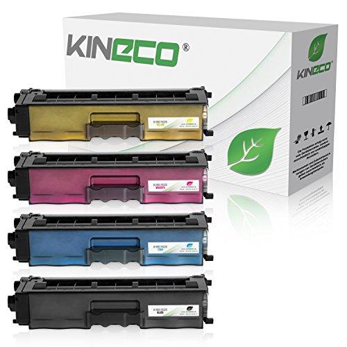 Kineco 4 Toner kompatibel für Brother TN-326 HL-L8250CDN DCP-8400 8450 CDN CDW HL-8250 8300 8350 CDN Series CDW CDWT MFC-8600 8650 8850 CDW