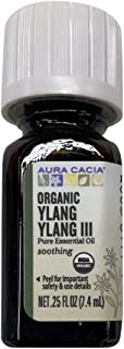 Aura Cacia Ylang Ylang III Essential Oil, 0.25 Ounce - 2 per case.