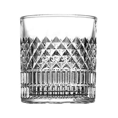DZHTWSRYGR Vaso de Vino Tinto Vaso de Whisky Transparente Vaso de Licor Creativo para el hogar Vaso de Cerveza Vaso de Cerveza