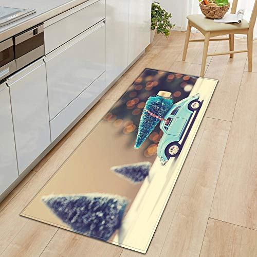 XIAOZHANG Living Room Runner Mat Carpet Creative car decoration Crystal velvet door mat indoor outdoor carpet corridor floor bedroom living room study rugs Non-slip absorbent 40x60CM