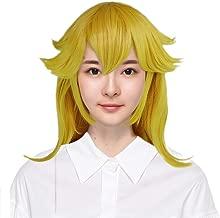 Super Mario Princess Peach Wig Long Wavy Yellow Cosplay Wig Halloween
