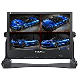 SEETEC ATEM156 15.6' 4 HDMI Input Output Quad Split Display for ATEM Mini Video Switcher Live Streaming Broadcast Director Monitor Used in Movie Production