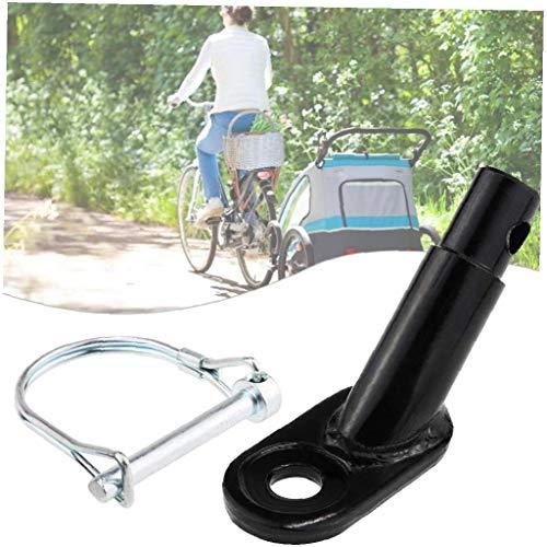 Romote Fahrradanhängerkupplung Fahrradanhängerkupplung Mount Adapter Fahrradgepäckträger Halterung Bike Zubehör Für Kinder Pet Cargo-fahrradanhänger