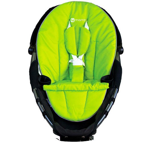 4moms 2000215 Stoffbezug für origami Kinderwagen, grün