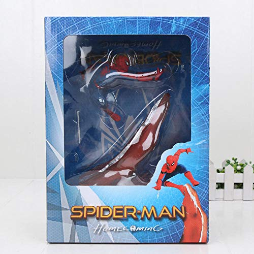 PsWzyze Avengers Figurenfinale Thanos Ironman Spiderman Corail Danvers Loki Noir panthère docteur étrange Statue KOs Iron Studios jouets-spderman in Box
