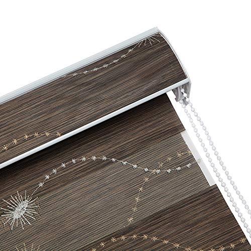 Estor Enrollable Apagón Ventana Sombras, Protección UV Impermeable Persianas Enrollables, Imagen Impresa Ventana Persianas para Sala Dormitorios, Personalizable ( Color : A , Size : 100cmx180cm )