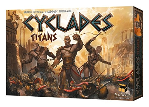 Matagot SAS MATSCYC3 - Cyclades - Titans Erweiterung, Brettspiel