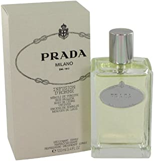 PRADA INFUSION D'HOMME by Prada for MEN: DEODORANT SPRAY 3.4 OZ