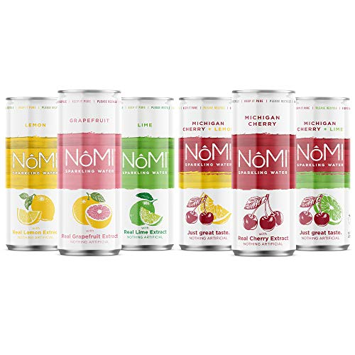 NoMI Citrus Sparkling Water Variety Pack $3.49(30% Off after CODE)