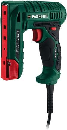 Clavadora/grapadora eléctrica Parkside PHET 15 B1, compatible con accesorios estándar cuando necesita recargar