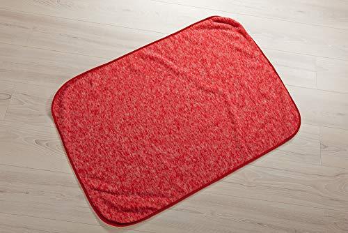 Cosilana Baby Decke Wollfleece Braun-Melange 115