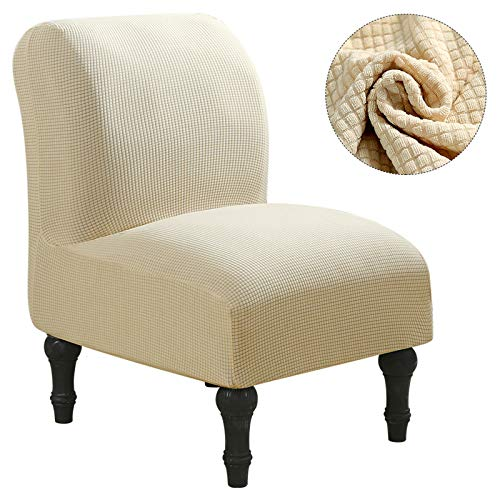 Waterproof Stretch Protector Slip Cover Sloping Arm King Back Chair Cover Elastic Armchair Wingback Wing Sofa Back Chair Cover G289535