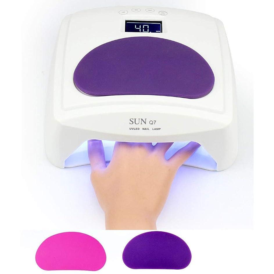 48ワット硬化ゲルネイルランプネイルドライヤーuv ledマニキュアポリッシャー機紫外線療法ランプ装置