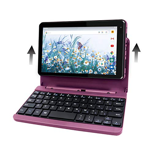 RCA Voyager Pro+ [RCT6876Q22K00] 7 Inches 2GB RAM 16GB Storage with Keyboard Case Tablet Android 10 (Go Edition) (Burgundy)