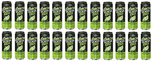 Campari 24 x Mojito Soda Italian Lime Flavoured Beverage Soft Drink 330 ml Alcool Free !