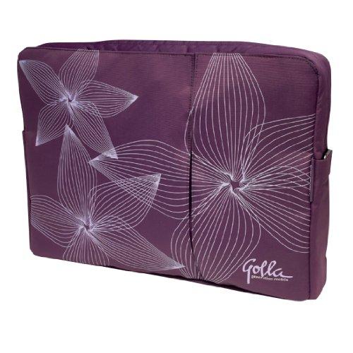 Golla Jade G807 13 inch Slim Laptop Bag/Case 2010 Range - Purple