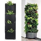 seasaleshop - Planta Vertical para Colgar en la Pared, Color Verde, con 4/7 Bolsillos, para casa, Pared, balcón, jardín