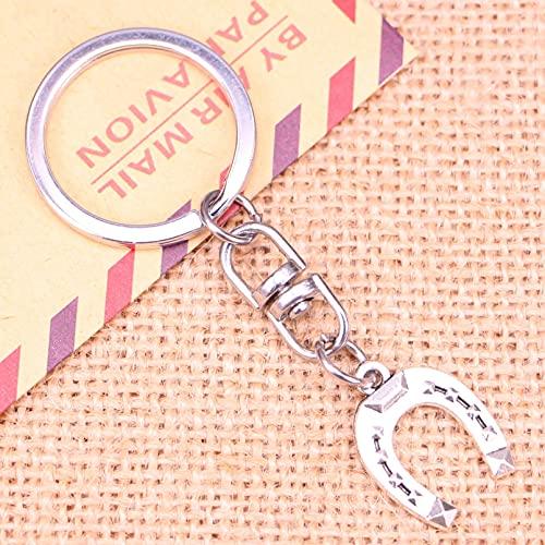 ARTAKA Llavero 21x16mm Herradura Colgantes de la Suerte DIY HombresLlavero de Coche Soporte de Anillo Recuerdo para Regalo