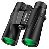 K&F Concept 8 X 42 Folding High-Powered Binoculars IP68 Nitrogen Waterproof Telescope with Low Light Night Vision for Bird Watching, Outdoor Sports Games and Concerts (8 X 42 mm)