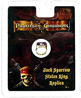 Master Replicas Pirates of the Caribbean Jack Sparrow Stolen Ring