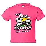 Camiseta niño De tal palo tal astilla Madrid fútbol - Rosa, 9-11 años
