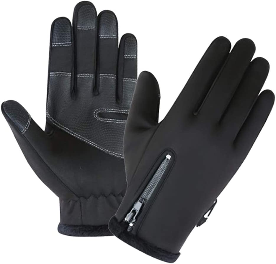LuDa Thermal Windproof Waterproof Winter Gloves Touch Screen Mittens