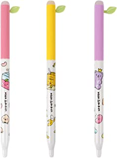 Convenience Store Foods Stationery School Supplies Erasable Pen : Set of 3