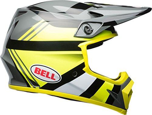 BELL Helmet Mx-9 Mips Marauder, Hi Viz Gelb/Schwarz, Größe M