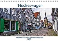 Stadtansichten Hueckeswagen (Wandkalender 2022 DIN A4 quer): Die historische Altstadt der Schloss-Stadt im Oberbergischen Kreis. (Monatskalender, 14 Seiten )