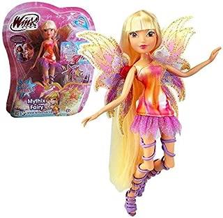 Winx Club - Mythix Fairy - Stella Doll 28cm with Mythix Scepter by Witty Toys