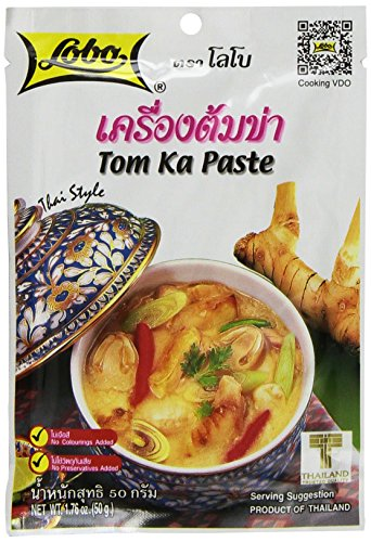 Lobo Thai Envelope Spicy Coconut Chicken Soup Tom Ka 176 Ounce Pack of 5