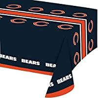 Chicago Bears Plastic Tablecloths, 3 ct [並行輸入品]
