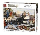 KING Orient Express 5773 - Puzzle (1000 Piezas, 68 x 49 cm), Color Blanco