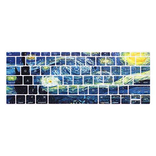 US-Ente cubierta del teclado del ordenador portátil Para MacBook 12 Pro13 sin touchbarSilicona teclado protector de película Para A1534 A1931 A1708 A1988-B
