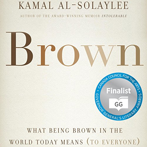 Brown audiobook cover art