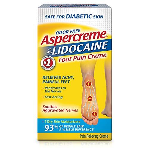 Aspercreme Lidocaine Diabetic Foot Creme, 4 oz