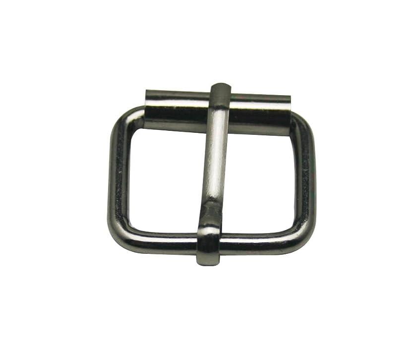 Generic Metal Gun Black Rectangle Buckle 1