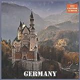 Germany Calendar 2022: Official Germany Calendar 2022, 16 Month Calendar 2022