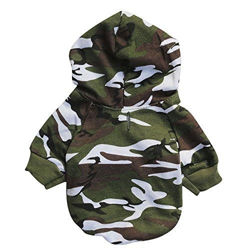 IEason Pet Clothes, Puppy Pet Dog Clothes Sweatshirts (XS, Green)