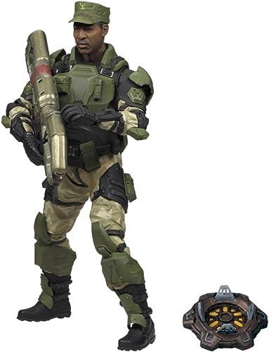 Mc farlane - Figurine Halo série 5 Sgt Avery Johnson